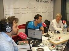 Estuvimos con David Felipe Arranz en 'El Marcapáginas' de Gestiona Radio
