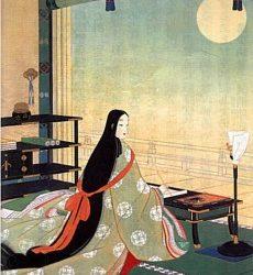 Murasaki Shikibu, una de las primeras novelistas