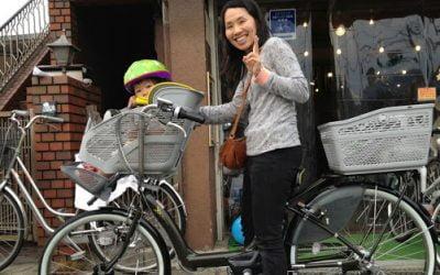 Las dos ruedas más peculiares de Japón: 'mamachari'