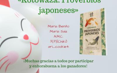 Sorteamos 5 ejemplares de «Kotowaza. Proverbios japoneses»