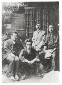 Kikuchi_Kan,Akutagawa_Ryunosuke,and_so_on