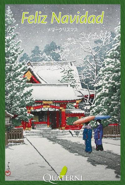 Quaterni os desea Feliz Navidad y próspero 2015